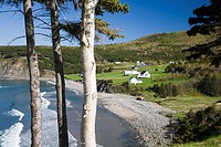 Meat Cove village, near Ingonish, northern-most part of Cape Breton, Nova Scotia, Maritimes, Canada, 2008