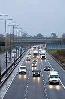 M5 motorway Worcestershire United Kingdom Europe