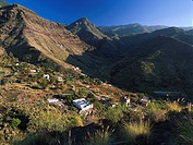 Valley of El Risco de Agaete, Tamadaba Natural Park, Gran Canaria, Canary Islands, Spain
