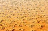Desert in Algeria, aerial view