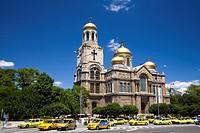 Chram Sveta Uspenie Bogorodicno Cathedral in Varna, Bulgaria