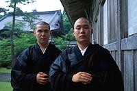 Zen Monk pupils, Soji_ji Monzen, Noto Hanto, Japan