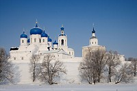 Russia - Golden Ring - Bogolyubovo. The Cathedral of the Nativity of the Virgin (1866, UNESCO World Heritage List, 1992)