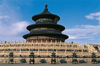 China - Beijing. Imperial Sacrificial Altar Temple of Heaven (UNESCO World Heritage List, 1998)