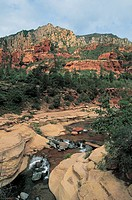 United States of America - State of Arizona - Sedona Oak Creek Canyon. Oak Creek