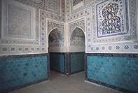 Uzbekistan - Shakhrisabz (World Heritage Site, 2000) - Ulug Beg Mosque - Interior
