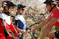 mountainbiker, athletically, pause, bicycle_tour, nature