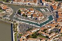 Saint-Martin, Île de Ré, Atlantic Coast. Charente-Maritime, Poitou-Charentes, France