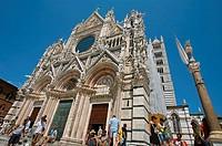 Duomo (Cathedral). Siena. Tuscany. Italy.