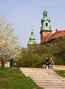 Poland, Krakow, Wawel Hill