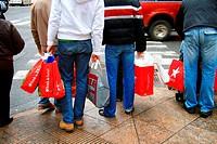 USA, New York City, shopping