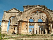 Church of Saint Simeon Stylites near Aleppo, Syria