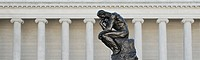 'The Thinker' by Auguste Rodin at California Palace of the Legion of Honor, San Francisco, California, USA