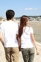 Japanese couple in Shonan area