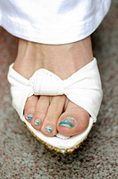 Foot of woman (thumbnail)