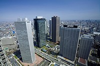 Shinjuku newly developed city center (thumbnail)