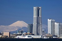 Mt. Fuji and Landmark tower