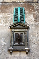 Two shuttered windows, Italy