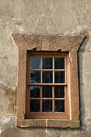 Exterior view of window