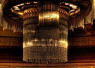 Glamour Chandelier in Royal Theater, The Hague, The Netherlands