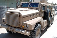 Joint explosive ordnance rapid response vehicle, commonly referred to as Cougar