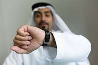 Time, business, watch, businessmen, businessman, Arabic (thumbnail)