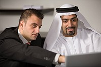 Laptop, business, computer, businessmen, businessman, Arabic (thumbnail)