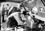 fiat, scuola pratica sulle carrozzerie, italia 1950