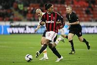 ronaldinho, milano 2009, serie a football championship 2008_2009, milan_lecce