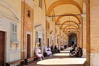 santa casa sanctuary, loreto, marche, italy