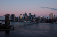 New York City - view from Manhattan Bridge