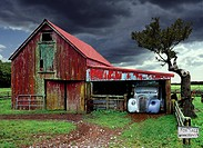 barn, architecture, bad, automobiles, automobil, barns, abandoned