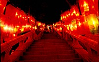 religous product, stair, religious goods, night, buddha`s birthday, buddhist supplies, stone stair