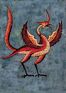 phoenix, bird, birds, vertebrate, tradition, imaginary bird, animal