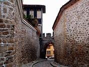 Plovdiv, old town, traditional houses  Bulgaria, Europe