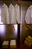 Wardrobe with shirts