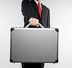 Businessman Holding Briefcase (thumbnail)