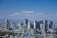 Shinjuku high_rise buildings