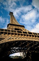The Eiffel Tower. Paris, France. Designed by Gustav Eiffel