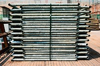 Stack of scaffolding tubes (thumbnail)