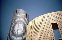 Detail of a building, Paris La Defense, France (thumbnail)