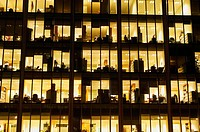 Office building at dusk (thumbnail)