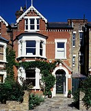Mid terrace Victorian house, south London