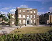 Re_development of an old derelict Victorian hospital into private houses in North London