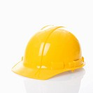 Yellow safety hard hat (thumbnail)