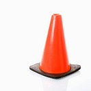 Orange traffic cone (thumbnail)