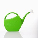 Green plastic watering can (thumbnail)
