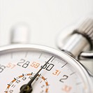 Detail of stopwatch with selective focus