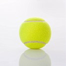 Single tennis ball
