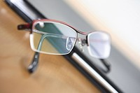 Notebook and glasses (thumbnail)